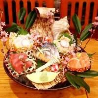 鮮魚は鮮度、食べごろどれをとっても抜群に旨いものだけをご提供