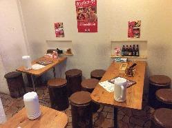 各種パーティ、お集まりに最適なテーブル席もご用意。