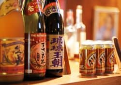 泡盛、焼酎、日本酒、オーガニックワイン 豊富にご用意してます