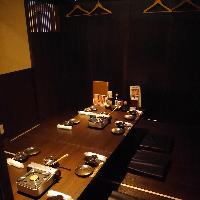 純和風の落ち着きある個室でご宴会は4名〜最大60名様まで歓迎!