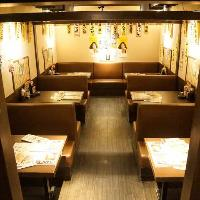 純和風の落ち着きある個室でご宴会、最大30名様での宴会大歓迎!