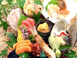 新鮮鮮魚をぜひ、ご賞味下さい