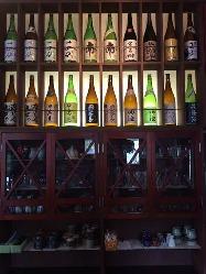日本酒はこだわりの品をセレクト