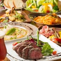 道産食材を中心に使用したコースもご用意しております。