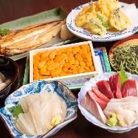 新鮮な海鮮お料理は是非一度ご賞味あれ!