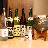 地酒をはじめ日本酒も充実しています☆