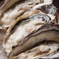厚岸のブランド牡蠣。 大粒でクリーミー♪