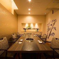 接待や会食におすすめの個室。