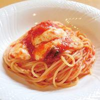 モッツァレラのトマトソーススパゲティ