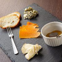 お好みのお酒とタパス&チーズでサクッと楽しむ方も大歓迎です♪