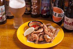 多種多様なクラフトビールとともにお食事をどうぞ!