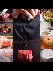 北海道新ひだか町黒毛和牛「こぶ黒」など道産食材を使用。