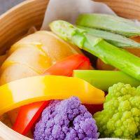 新鮮野菜のスチームサラダ 旬の食材をご堪能ください!