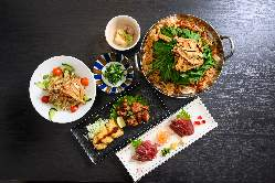 コース料理も豊富にご用意!九州料理も各種ご用意!