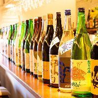 冷酒だけでも全国各地の約40種類と豊富にご用意しております!