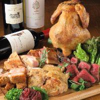 お肉を食べ比べ!心ゆくまでお肉を堪能できます!
