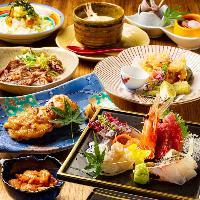 旬の食材を使用した宴会コースを多数ご用意しております。
