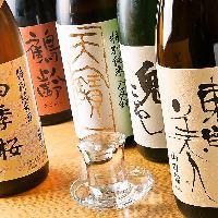 北海道から日本各地の地酒・焼酎を楽しんでいただけます。