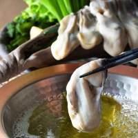 「牡蠣しゃぶ」60分の食べ放題が1999円→1490円(税抜)