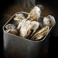 <当店大人気>牡蠣のガンガン焼き