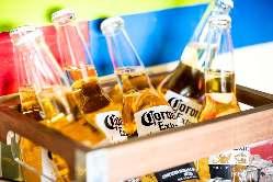 ビールやモヒート お酒も美味しくすすみます