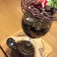 ホンジュラス豆のコーヒーゼリー