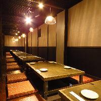 最大32席の宴会可能!人数に応じて個室もご用意ございます◎