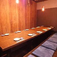 最大12席の宴会可能!人数に応じて個室もご用意ございます◎