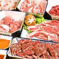 自慢は海鮮ですが、お肉にもこだわり!上質なお肉をどすこいで!