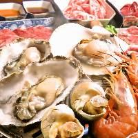 新鮮なプリップリッな牡蠣を食べ放題で!60分1,500円!