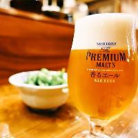 【神泡超達人店】認定店が提供するビール♪