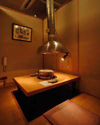 ♪掘り炬燵の完全個室ゆったりお食事!
