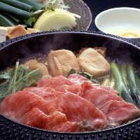 【A5ランク黒毛和牛】 しゃぶしゃぶやすき焼きは松阪牛もご用意