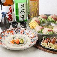 季節の鮮魚を使った逸品も。ぜひご賞味ください!
