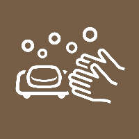 飛沫感染、接触感染を防ぐためアルコール消毒や手洗いなどの徹底