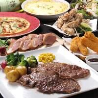 【飲み放題120分】寒い時期は肉料理に鍋料理が熱い!