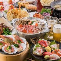 贔屓屋の宴コース各種飲み会に! 【飲み放題付】4000円