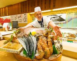 信頼の契約農家や自社漁場から仕入れる上質な食材が勢揃い!