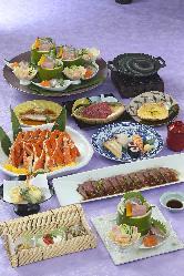 豚・牛しゃぶや近江牛鉄板焼のある「男の花道」は気軽な宴会に。