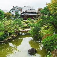 庭園は京都府登録文化財に指定。ゆったり散策もお楽しみください