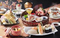 四季の味覚 茶屋かご膳 3,000円(+税)