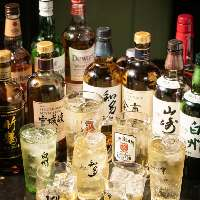 春日のハイボールは最大27種のウイスキーで!