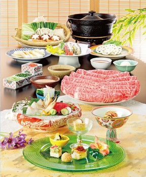 しゃぶしゃぶ 日本料理 木曽路 明石店