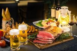 大人気ローストビーフ食べ放題、ファミリーや仲間内で楽しもう!
