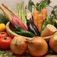 【お野菜も豊富】 お肉とともに、たっぷりと。季節の味をご用意