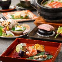 【接待・会食に】 贅沢三昧厳選素材で是非、プレミアム宴会を!