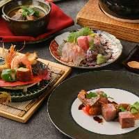【贅沢素材・本格和食】 予算に合わせたコースプラン多数用意!