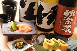 福岡の地酒と揃っています。  博多郷土料理といっしょにどうぞ。
