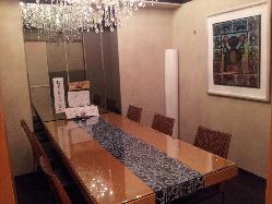 接待・会食などに 8席の個室を2部屋ご用意。