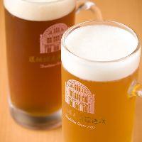 大阪ミナミ名物「道頓堀ビール」も楽しめます